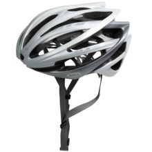 Bell Gage Cycling Helmet (For Men and Women) in White Stripes - Closeouts