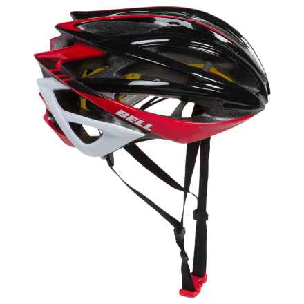 Bell Gage MIPS Bike Helmet (For Men and Women) in Black/Red Cadence - Closeouts