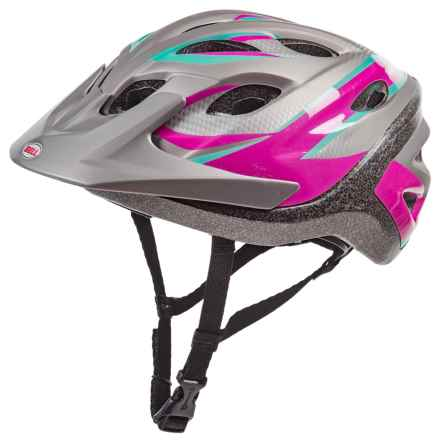 Bell Hera Bike Helmet (For Women) in Pink/Titanium Swift - Closeouts