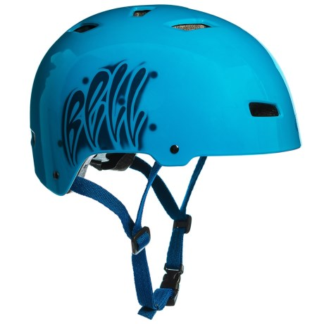 Bell Injector Bike Helmet (For Kids) in Graffiti Force Blue
