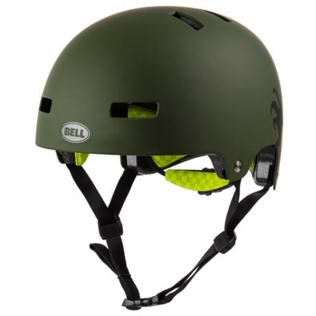Bell Local-Graphics Bike Helmet (For Men and Women) in Matte Grenade/Tangerine Octobeast