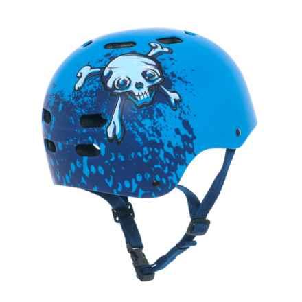 Bell Maniac Helmet (For Little Kids) in Blue Bones - Closeouts