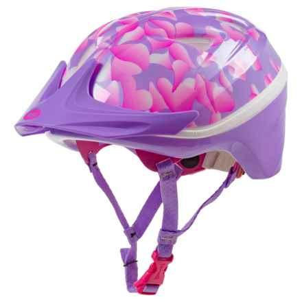 Bell Mini Bike Helmet (For Little Kids) in Lavender Petals - Closeouts