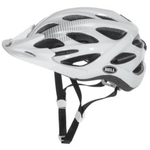 Bell Muni Sport Helmet (For Men and Women) in White/Silver Vis - Closeouts