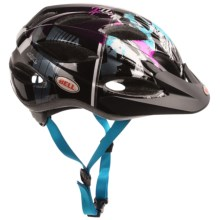 Bell Octane Bike Helmet (For Kids and Youth) in Purple/Teal/Black Swan - Closeouts