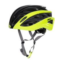 Bell Overdrive Road Bike Helmet (For Men and Women) in Black/Retina Sear Hero - Closeouts