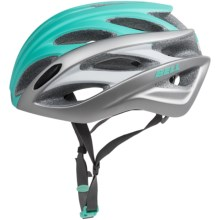 Bell Overdrive Road Bike Helmet (For Men and Women) in Matte Mint/Silver Hero - Closeouts