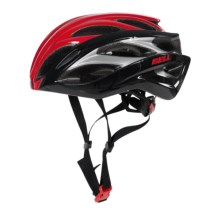 Bell Overdrive Road Bike Helmet (For Men and Women) in Red/Black Hero - Closeouts