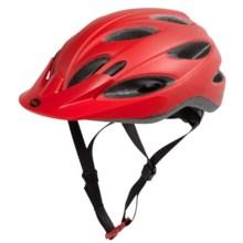 Bell Piston Mountain Bike Helmet (For Men and Women) in Matte Red Comet - Closeouts