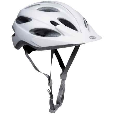 Bell Piston Mountain Bike Helmet (For Men and Women) in Matte White/Silver Ombre - Closeouts