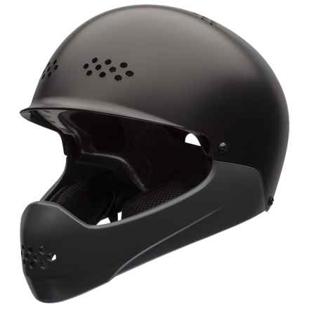 Bell Ramble Full Face Helmet (For Big Kids) in Matte Black/Titanium - Closeouts