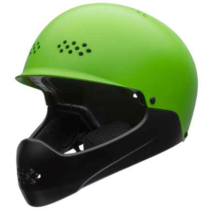 Bell Ramble Full Face Helmet (For Big Kids) in Matte Kryptonite/Black - Closeouts