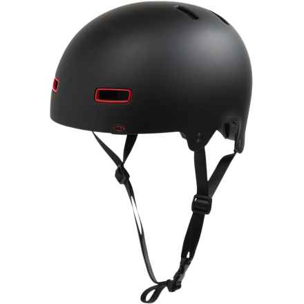 Bell Reflex Bike Helmet (For Men and Women) in Matte Black - Closeouts