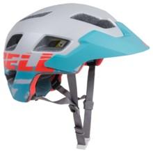 Bell Rush MIPS Mountain Bike Helmet (For Women) in Matte White/Glacier Blue - Closeouts