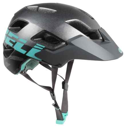Bell Rush Mountain Bike Helmet (For Women) in Matte Gunmetal Mint Sonic - Closeouts