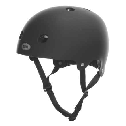 Bell Segment Half Face Bike Helmet (For Men and Women) in Matte Black - Closeouts