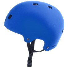 Bell Segment Half Face Bike Helmet (For Men and Women) in Matte Blue - Closeouts