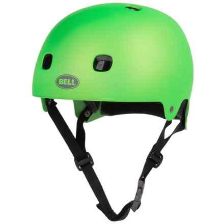 Bell Segment Half Face Bike Helmet (For Men and Women) in Matte Kryptonite - Closeouts