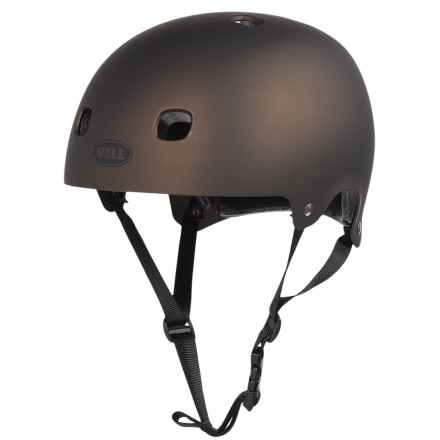 Bell Segment Half Face Bike Helmet (For Men and Women) in Matte Metallic Brown - Closeouts