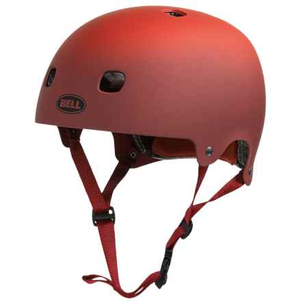 Bell Segment Half Face Bike Helmet (For Men and Women) in Matte Red Comet - Closeouts
