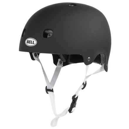 Bell Segment Jr. Bike Helmet (For Big Kids) in Matte Black - Closeouts