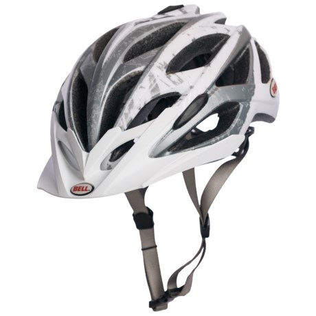 Bell Sequence Bike Helmet in Matte White/Silver Logos