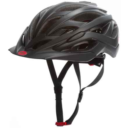 Bell Sequence Cycling Helmet (For Men and Women) in Matte Black Hero - Closeouts