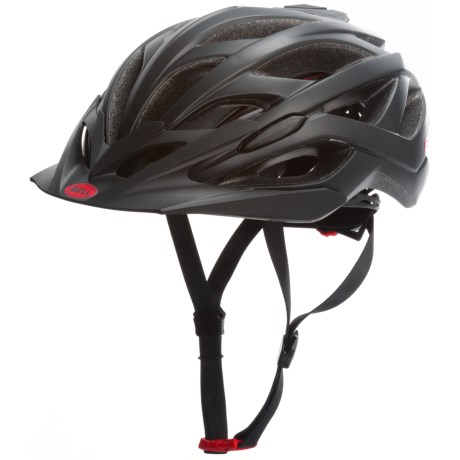 Bell Sequence Cycling Helmet (For Men and Women) in Matte Black Hero