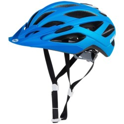 Bell Sequence Cycling Helmet (For Men and Women) in Matte Blue/White Ace