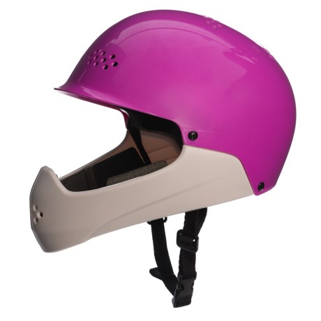 "Bell Shield Bike Helmet - Size 20.5-22"" (For Little Kids) in Purple/White"
