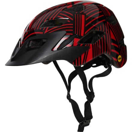 d45c6bb3a2 Bell Sidetrack Bike Helmet - MIPS (For Kids) in Gloss Red Black Seeker