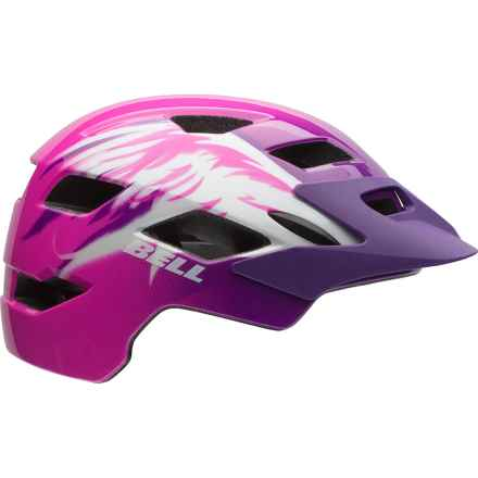 Bell Sidetrack MIPS Bike Helmet (For Big Girls) in Pink Raven - Closeouts
