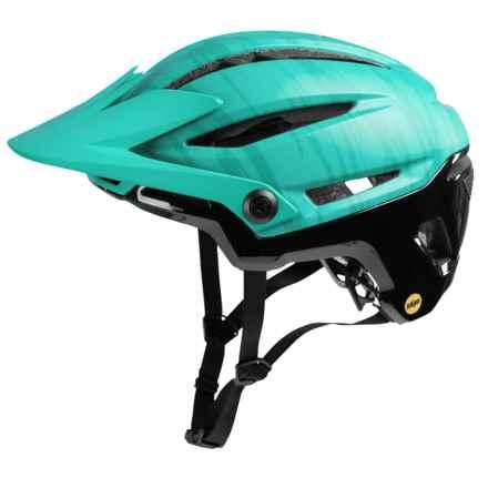 Bell Sixer MIPS Mountain Bike Helmet (For Men and Women) in Matte/Gloss Emerald/Black - Closeouts
