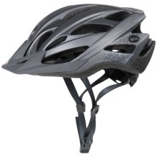Bell Slant Bike Helmet (For Men and Women) in Matte Titanium Braille - Closeouts