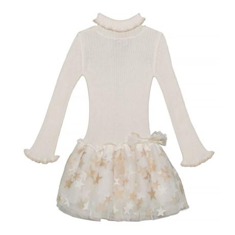 Image of Bell Sleeve Dress - Long Sleeve (For Little Girls)