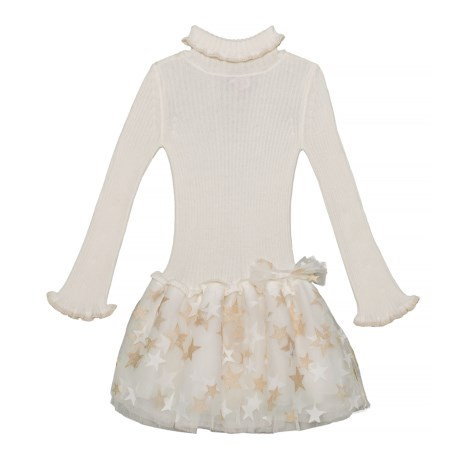 Image of Bell Sleeve Dress - Long Sleeve (For Toddler Girls)