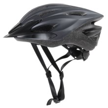 Bell Solar Flare Bike Helmet (For Men and Women) in Matte Black/Titanium Scoreboard - Closeouts