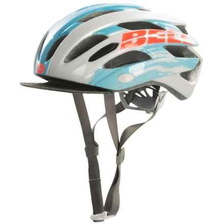 Bell Soul Bike Helmet (For Women) in White/Glacier Blue Sonic - Closeouts