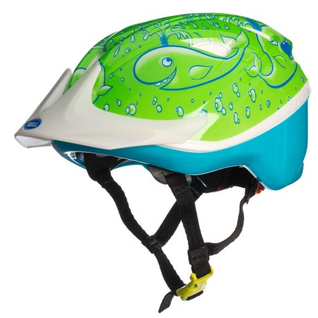 Bell Sprite Bike Helmet (For Little Kids) in Green Whalewash
