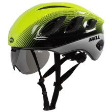 Bell Star Pro Bike Helmet with Eye Shield (For Men and Women) in Retina Sear/White Blur - Closeouts