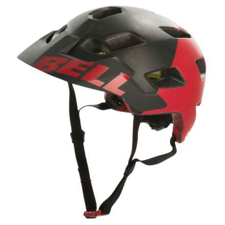 Bell Stoker MIPS Mountain Bike Helmet (For Men and Women) in Matte Black/Red Aggression - Closeouts