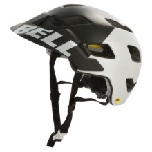 Bell Stoker MIPS Mountain Bike Helmet (For Men and Women) in Matte Black/White Aggression - Closeouts