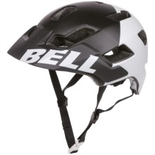 Bell Stoker Mountain Bike Helmet (For Men and Women) in Matte Black/White Aggression - Closeouts