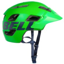 Bell Stoker Mountain Bike Helmet (For Men and Women) in Matte Kryptonite Emblem - Closeouts