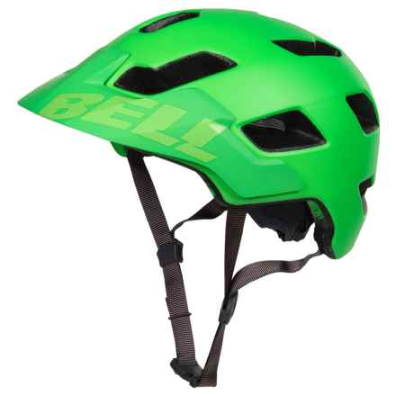 Bell Stoker Mountain Bike Helmet (For Men and Women) in Matte Kryptonite/Gunmetal - Closeouts