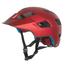 Bell Stoker Mountain Bike Helmet (For Men and Women) in Matte Red Emblem - Closeouts