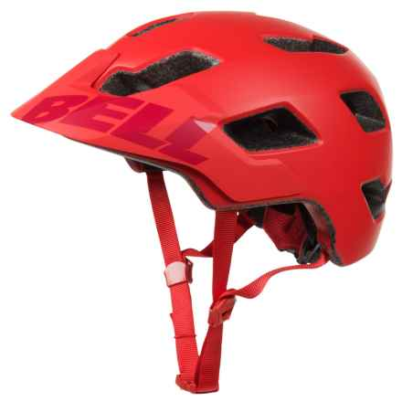 Bell Stoker Mountain Bike Helmet (For Men and Women) in Matte Red/Marsala - Closeouts