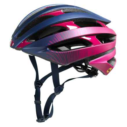 Bell Stratus MIPS Bike Helmet (For  Women) in Matte/Gloss Navy/Cherry Fibers - Closeouts