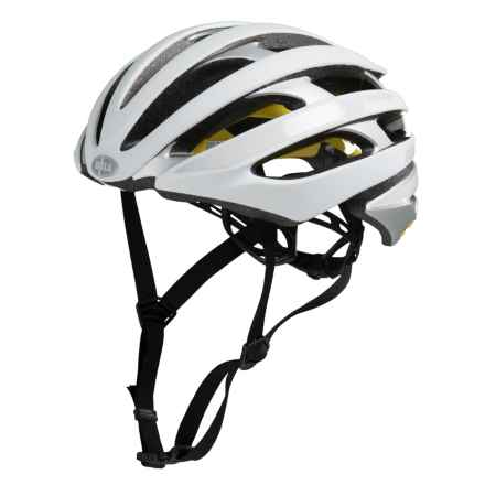Bell Stratus MIPS Reflective Bike Helmet (For Men and Women) in Matte White/Silver - Closeouts