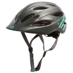 Bell Strut Bike Helmet (For Women) in Matte Gunmetal Mint Sonic